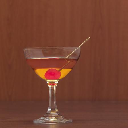 Manhattan Cocktail, Close-Up