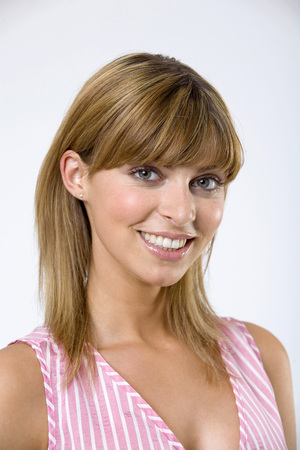 Young Woman Smiling,Portrait,Close-Up