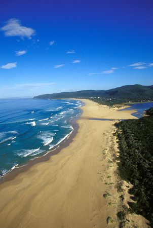 deepness: Keurboomstrand From Above, Plettenberg Bay, Western Cape, South Africa LANG_EVOIMAGES