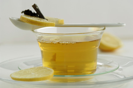 citrons: Cup Of Green Tea With Lemon