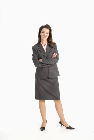 Businesswoman, Arms Crossed
