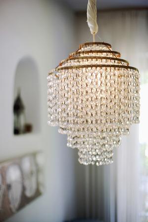 Art Nouveau-Lamp, Close-Up