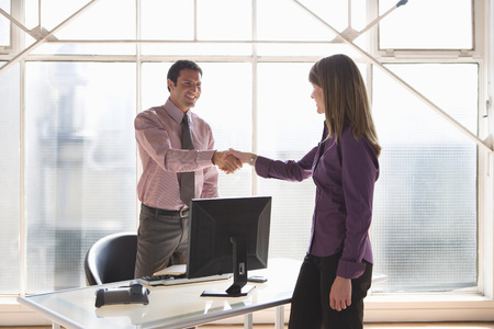 handclasp: Businesspeople Shaking Hands LANG_EVOIMAGES