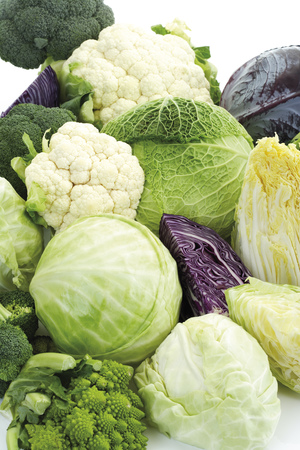 Cabbages, Close-Up LANG_EVOIMAGES