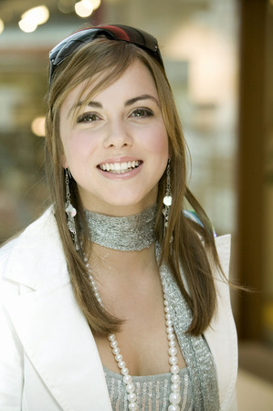 Young Woman, Portrait, Smiling
