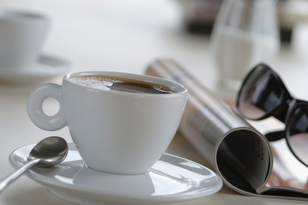 Cup Of Coffee, Close-Up