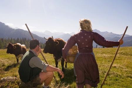 chordates: Dairy Maids On Pasture LANG_EVOIMAGES