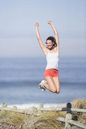 ardor: Young Woman Jumping
