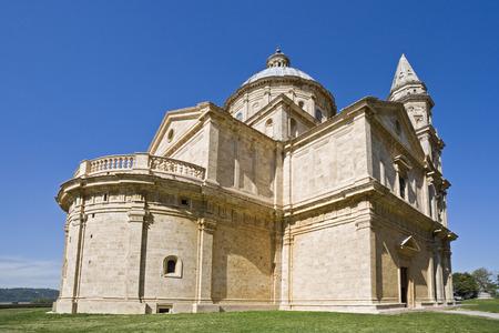 Italy, Tuscany, Montepulciano, Madonna Di San Biagio Church LANG_EVOIMAGES