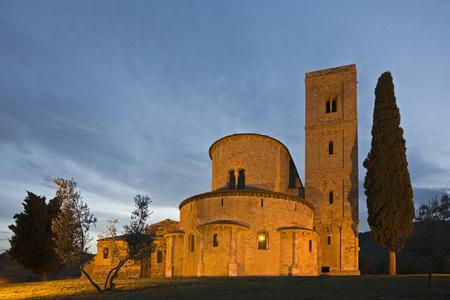 Italy, Tuscany, SantAntimo Abbey Church