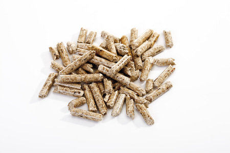 combustible: Wood Pellets, Elevated View LANG_EVOIMAGES