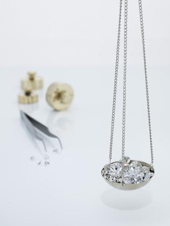 Diamonds On Carat Scale