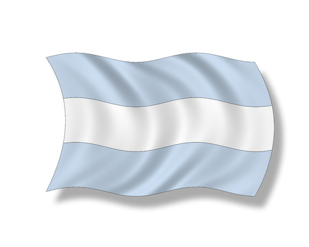 Illustration, Flag Of Argentinia LANG_EVOIMAGES