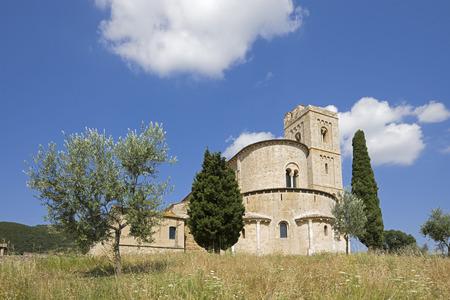 Italy, Tuscany, St. AntimoS Abbey