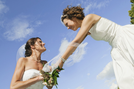 celos: Germany,Bavaria,Bride Fighting,Side View,Low Angle View