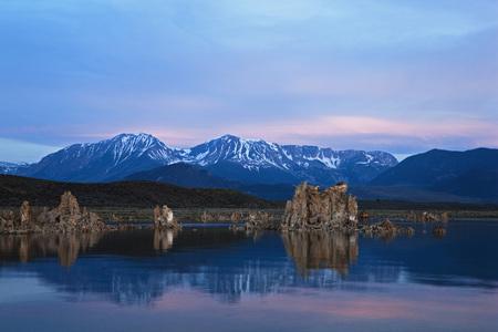 sierra nevada: Usa,California,South Tufa Area,Mono Lake