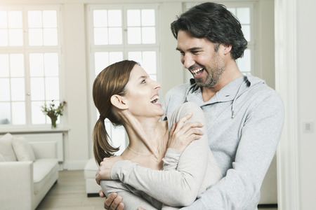 Germany,Berlin,Mature Couple Smiling