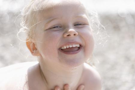 Germany,Bavaria,Girl Smiling,Portrait