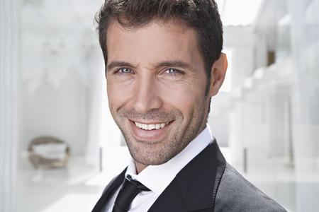 Spain,Businessman Smiling,Portrait