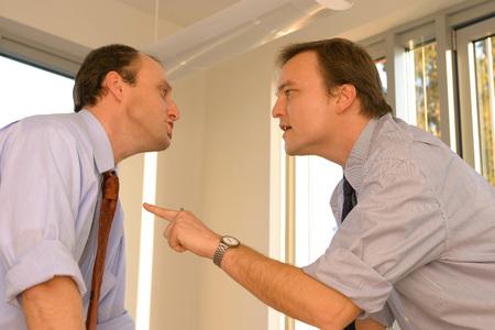 Two Business Men In Office