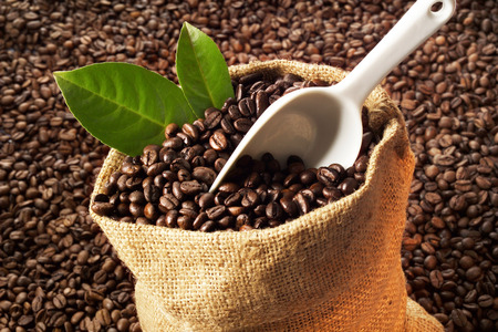 Coffeebeans In Gunnysack LANG_EVOIMAGES