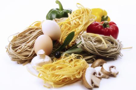 Different Tagliatelle, Italian Pasta