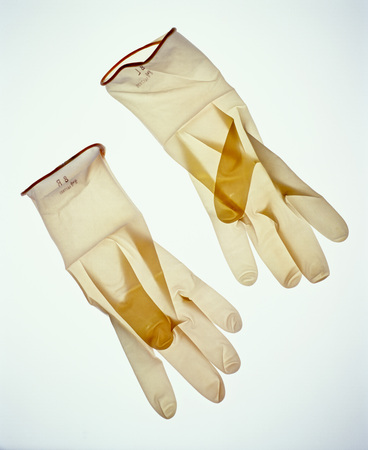 Surgical Gloves, Close-Up