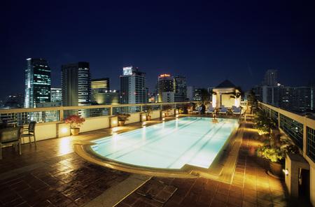 expanse: Rooftop Pool, Hotel Chateaux De Bangkok, Thailand