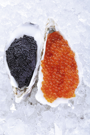 Caviar On Ice, Elevated View LANG_EVOIMAGES