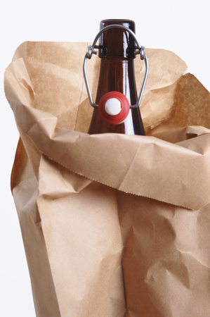 Bottle In Paperbag