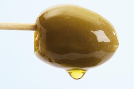 Green Olive On Skewer LANG_EVOIMAGES