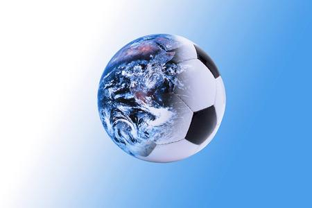 World And Football Composing