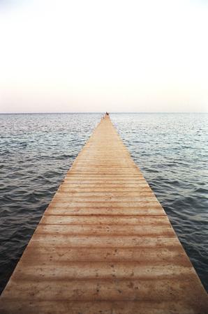Boardwalk On Sea