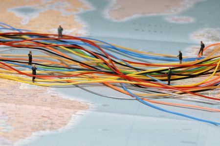 mapa conceptual: Business Network, Figurines