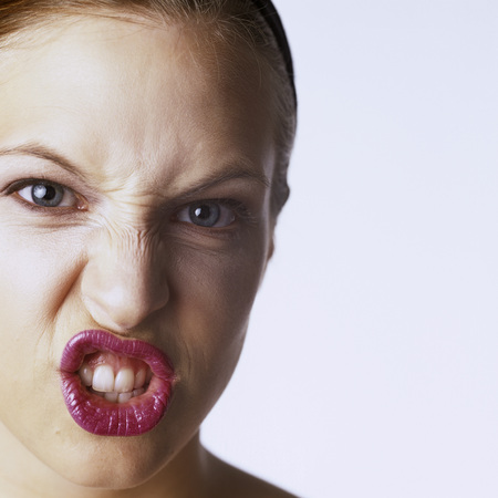 Angry Woman, Portrait