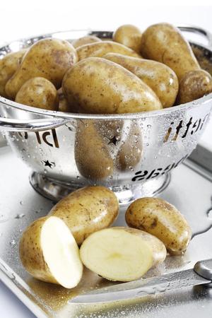 Potatoes In Colander LANG_EVOIMAGES