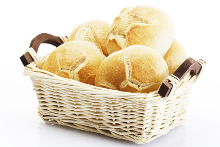 breadbasket: Bread Rolls In Basket LANG_EVOIMAGES