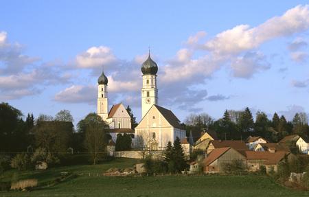 Germany, Bavaria, Church Of Pilgrimage Haindling LANG_EVOIMAGES