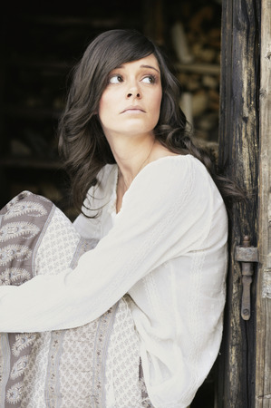 Young Woman, Portrait LANG_EVOIMAGES
