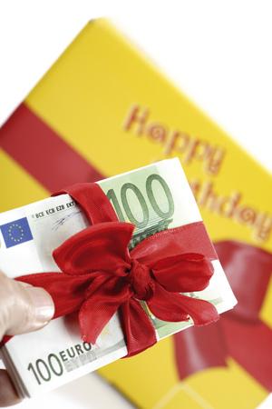 Gift Of Money For Birthday