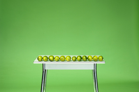 Limes On Table