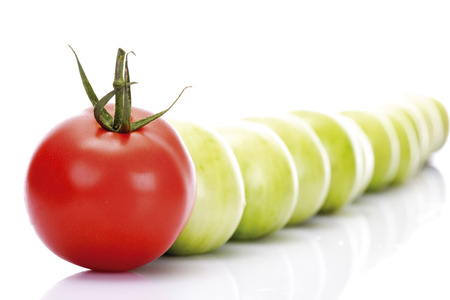 variable: Red And Green Tomatoes