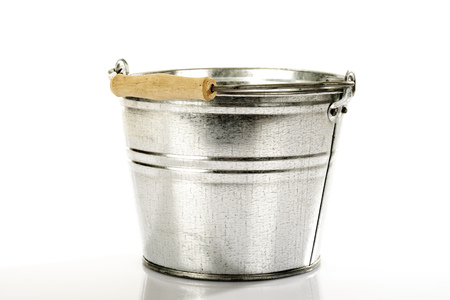 Zinc Bucket,Close-Up LANG_EVOIMAGES
