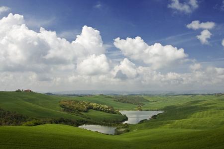 Italy, Tuscany, Landscape LANG_EVOIMAGES