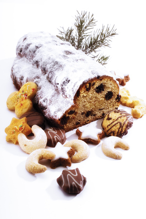 sweetly: Christmas Stollen And Cookies