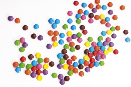 sweetly: Colored Chocolate Candies