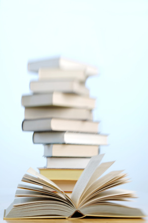Stacked Books LANG_EVOIMAGES