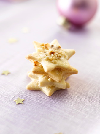 Stack Of Star-Shaped Cookies