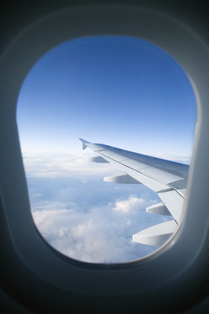 View Out Of Aircraft, Aerofoil LANG_EVOIMAGES