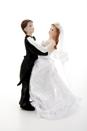 Wedding Couple Figurines Dancing